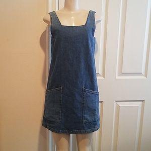 Topshop Mini Jean Dress size 4